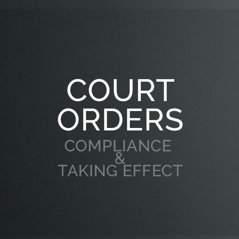 court-orders